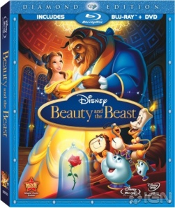 Beauty and the Beast Blu-ray Disc