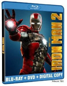 Iron Man 2 Blu-ray Disc