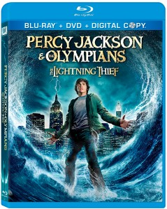 Percy Jackson and the Lightning Thief Blu Ray Disc