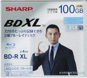 Sharp BDXL discs